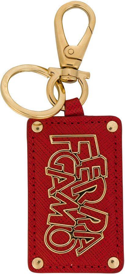 logo plaque keychain - Red Salvatore Ferragamo eujyYNguN6