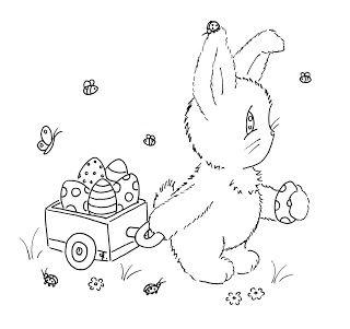 Sliekje digi Stamps: Easter Bunny