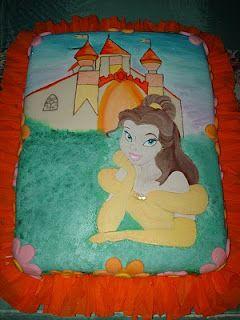 Destellos Eventos: Torta de la Princesa Bella