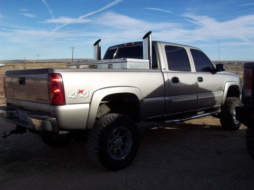duramax exhaust stacks diesel place chevrolet and. Black Bedroom Furniture Sets. Home Design Ideas