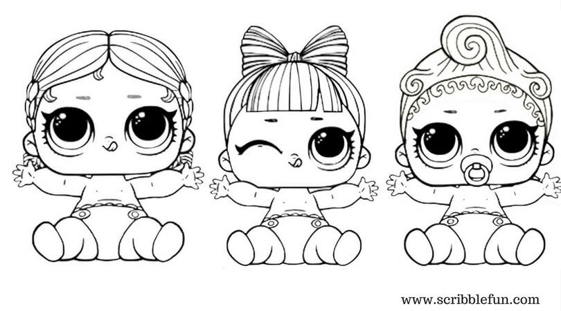 lol suprise doll coloring pages free printable | Paperdolls ...