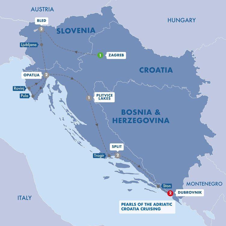11 Day Best Of Croatia Slovenia In 2020 Best Of Croatia Croatia Trafalgar Tours