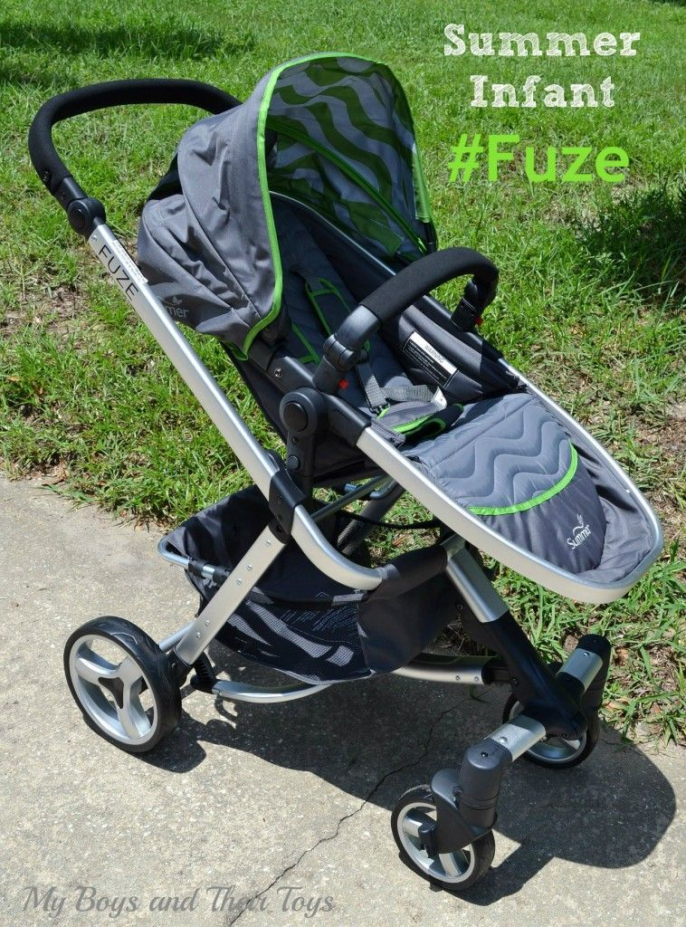 Summer Infant Fuze Stroller Sponsored Review Summer baby