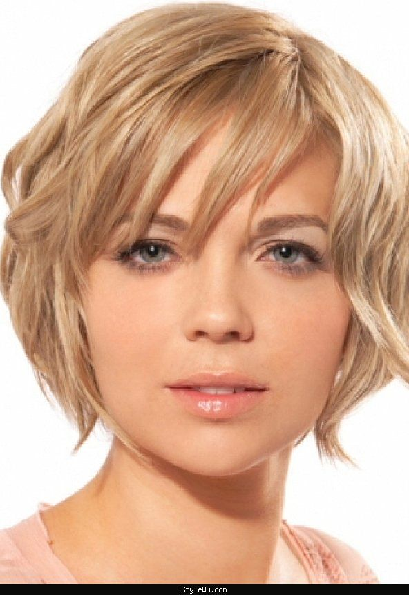 Short Haircuts 2016 Round Face Style Wu Short Hair Styles For Round Faces Hair Styles Short Wavy Hair