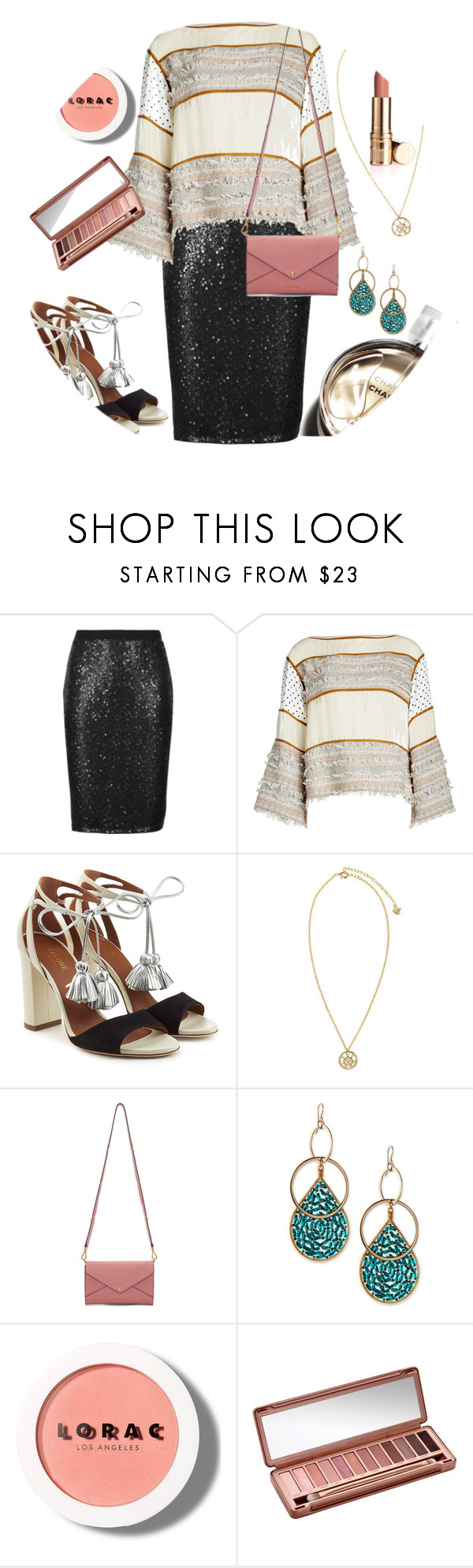 """""""#pencilskirt"""" by mimi-varte ❤ liked on Polyvore featuring M&S Collection, See by Chloé, Malone Souliers, Versace, Miu Miu, Chanel, Devon Leigh, LORAC and Urban Decay"""