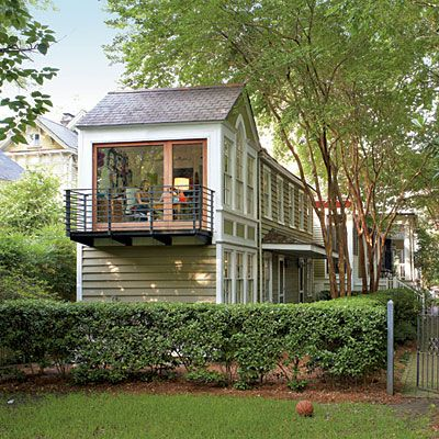 Charleston Makeover Southern Living Narrow House And