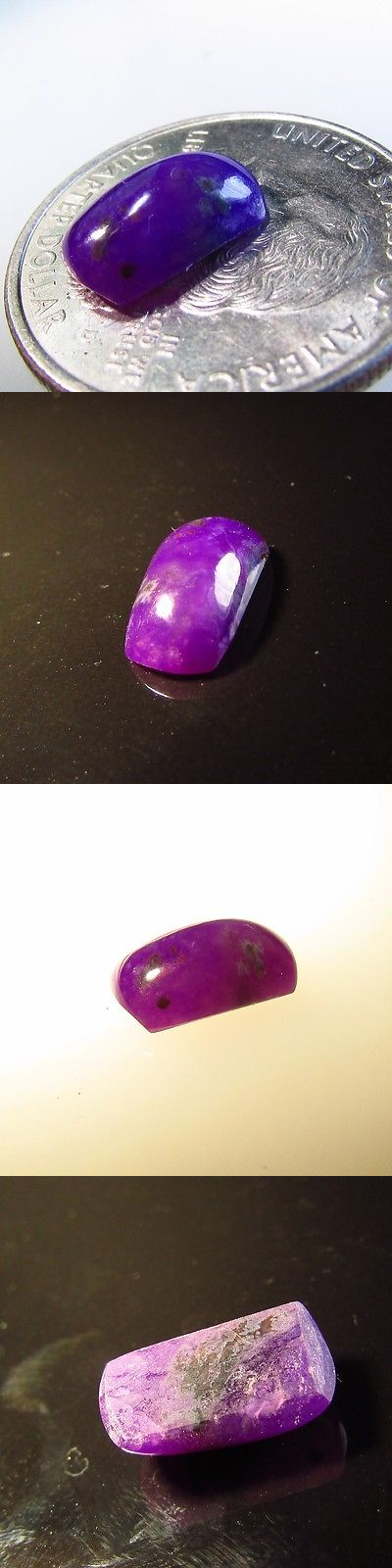 Sugilite 69181: 3.00 Ct Purple Gel Sugilite Oval Cabochon 11.5X7 Mm Wessels Mine Africa Best Buy BUY IT NOW ONLY: $143.65
