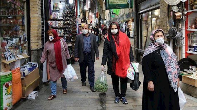 وضعیت قرمز کرونا در خوزستان، خراسان شمالی، لرستان و کرمانشاه