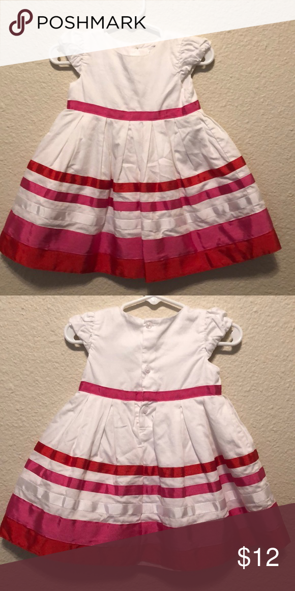 Baby girl party dress Carters brand baby girl party dress. Size 9 months. In great condition. Carter's Dresses #babygirlpartydresses