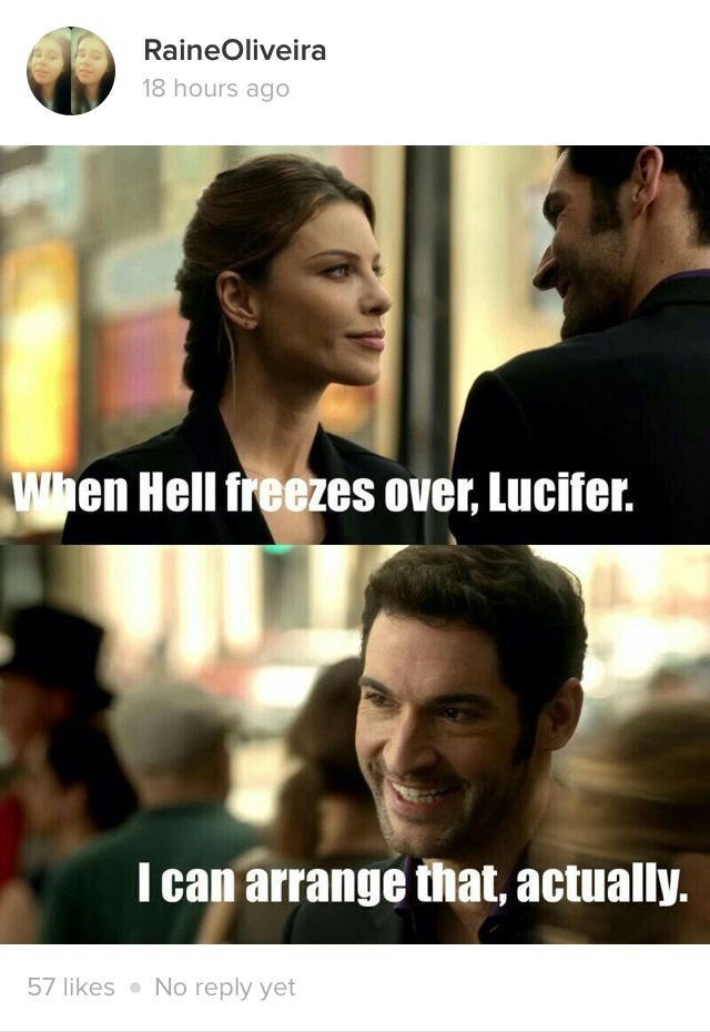 Image result for chloe when hell freezes over lucifer