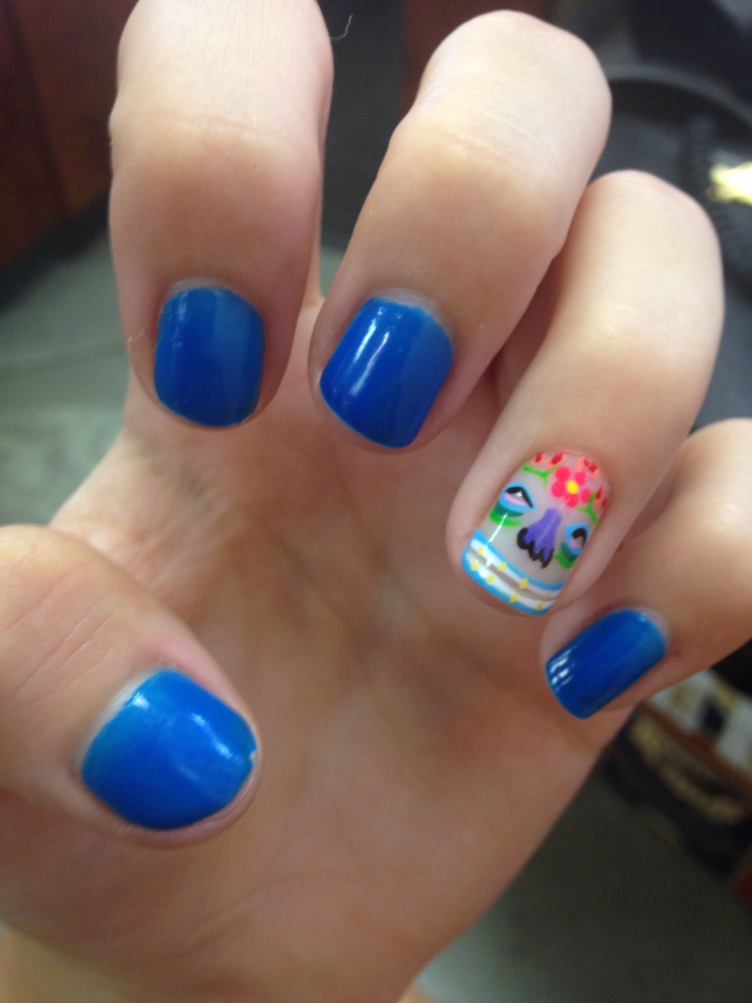 Hawiian Luau Nails Perfect For Luaus Weddings Or Just Parties Also Goes With Any Dress