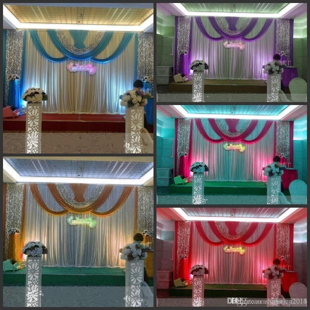 30 Unique And Breathtaking Wedding Backdrop Ideas: Wedding Reception Decoration Rentals Unique 20ft 10ft