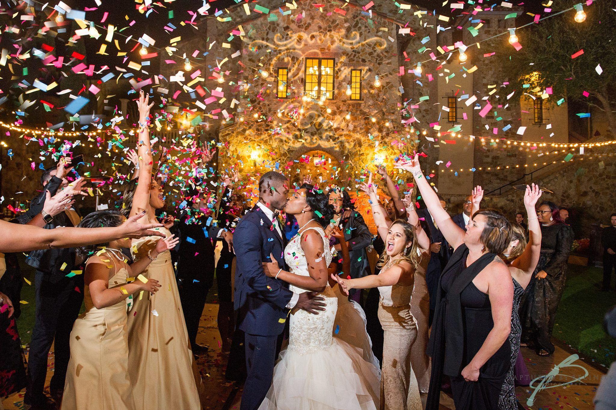 Confetti cannon last dance