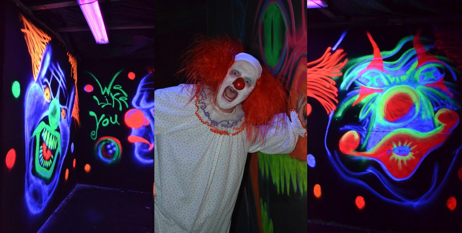 Haunted House Room Ideas | Third room was the clown room.