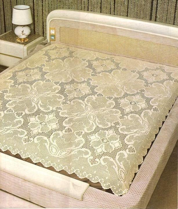 Materiales gráficos Gaby: 6 Modelos de colchas de hilo con patrones ...