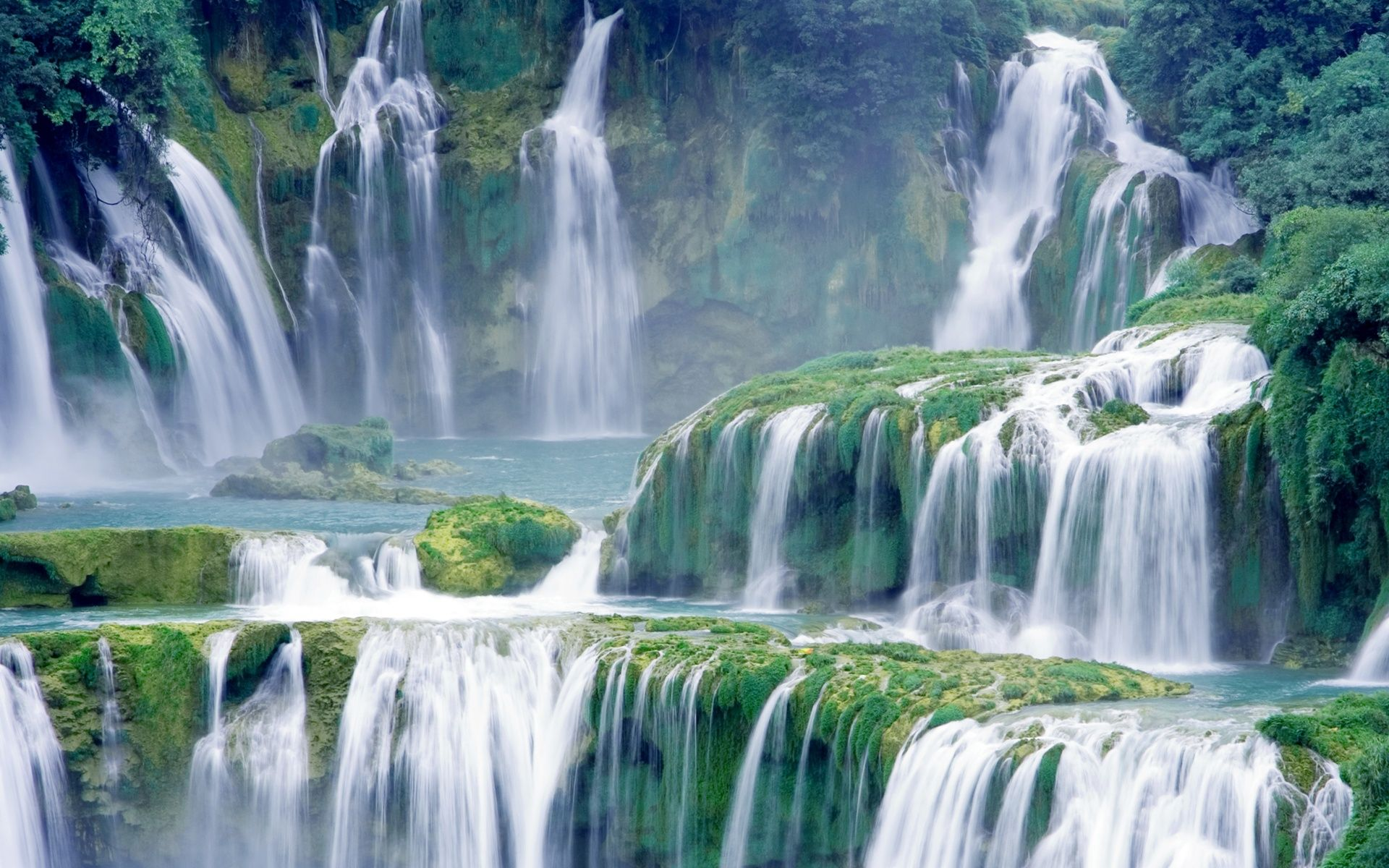 Waterfall Hd Wallpapers Free Download Nature Images Jpg 1920 1200 Beautiful Waterfalls Waterfall Wallpaper Waterfall