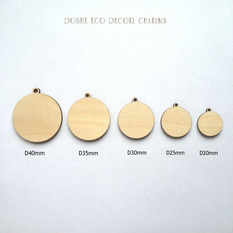 Unfinished laser cut round wood pendants wood jewelry wood unfinished laser cut round wood pendants wood jewelry wood charms wood embellishments mozeypictures Images