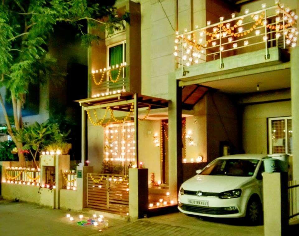 Karthigai deepam decor   Beautiful homes