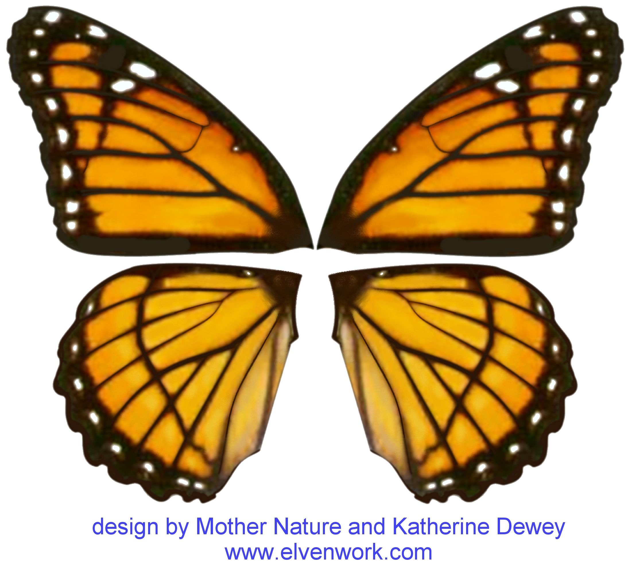 Fairy Wing Designs by Katherine Dewey Printables