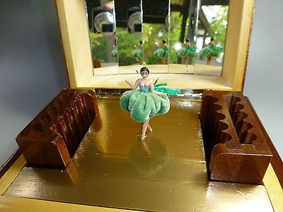 vintage swiss pre reuge dancing ballerina music box watch the