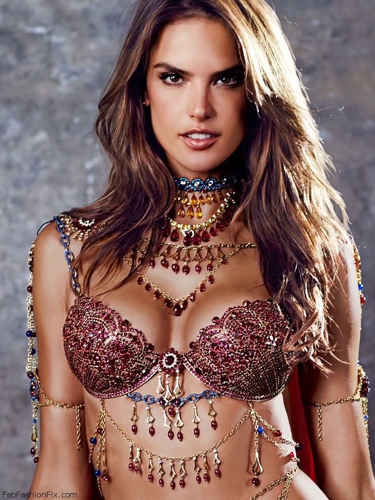 469d6b78b9 Alessandra Ambrosio wearing the 2014 Victoria s Secret Dream Angels Fantasy  Bra.  alessandraambrosio