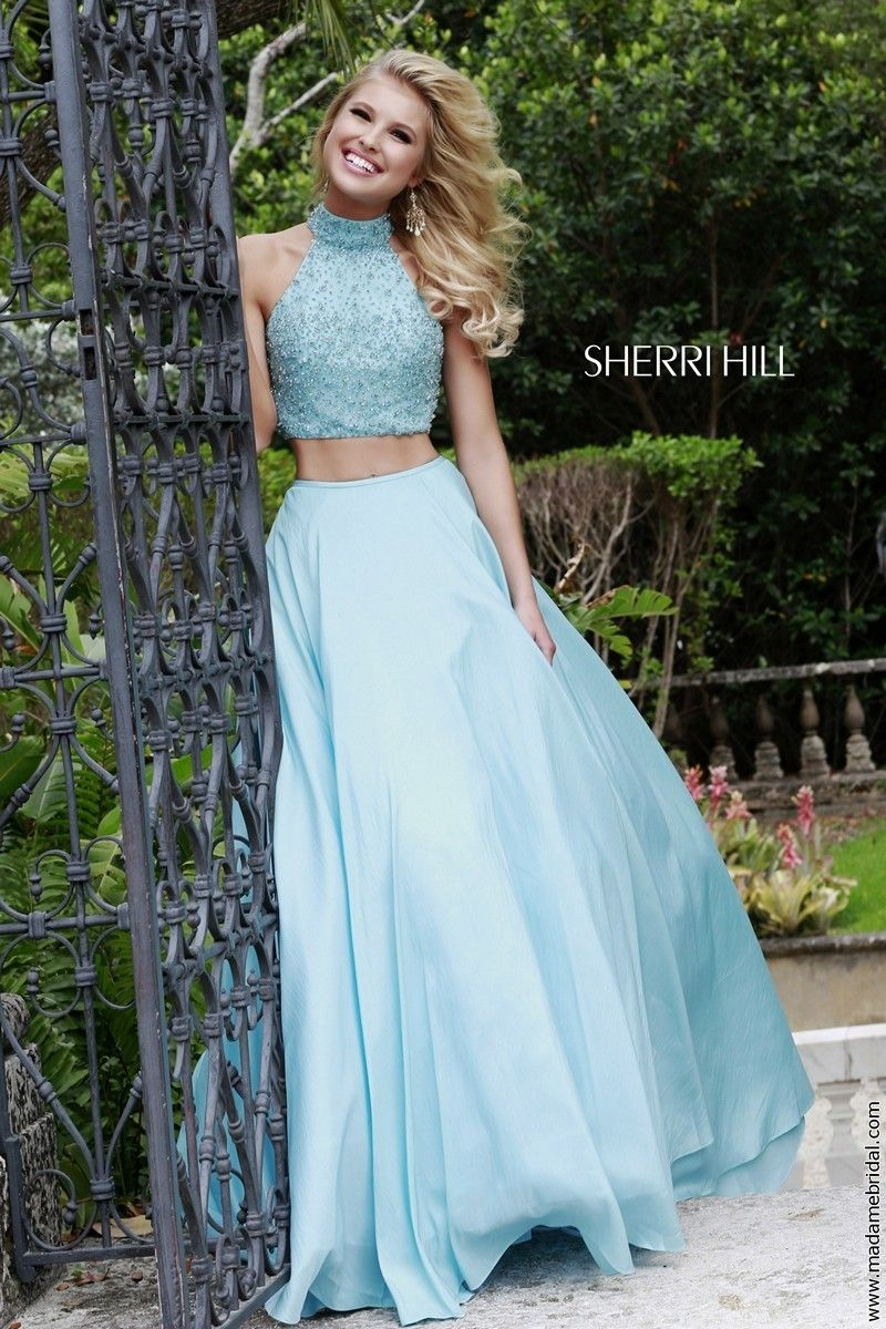 sherri-hill-32058-blue-prom-dress-keyhole-back-two-piece-high-neck ...