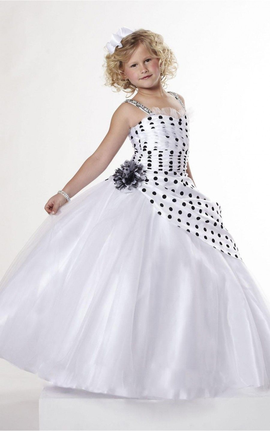 Multi Colors Ball Gown Floor-length Spaghetti Straps Dress [Dresses 9517] - $179.00 : - KissPromGirl.com