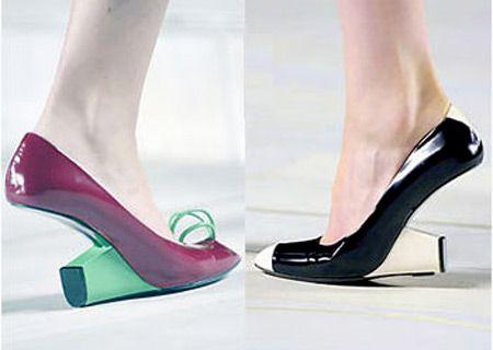 Another 12 of the Weirdest Shoes Ever - Oddee.com (weird shoes, strange shoes)