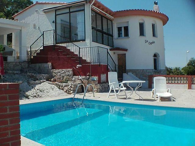 """""""Ferienhaus La Cigala"""" in Peñiscola, Costa del Azahar für"""