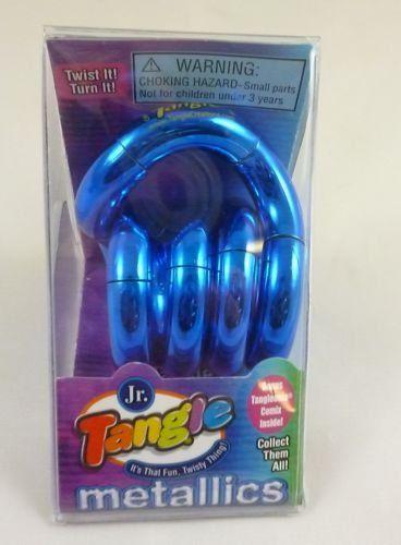 Jr. Tangle - Twist + Turn It! - Novelty Toys - Metallic B...