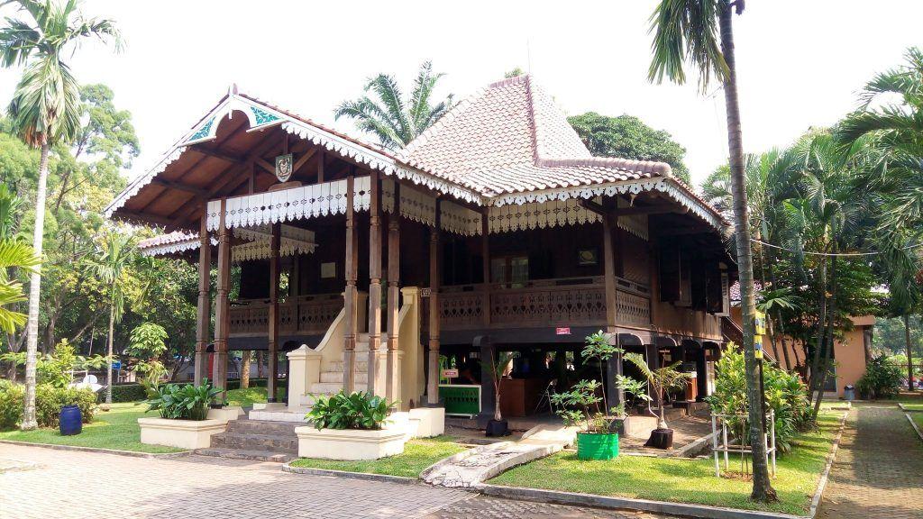 Gambar Rumah Adat Bengkulu Carak Us Rumah Indonesia Balok Kayu