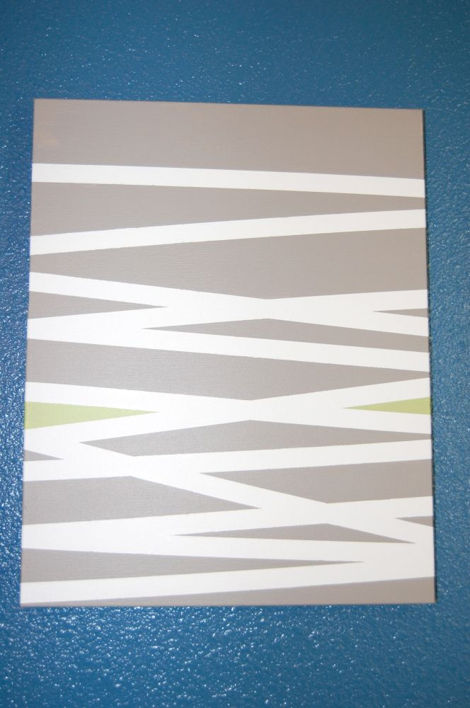 Striped canvas art with painters tape Painters tape, Paint - küche selbst gestalten