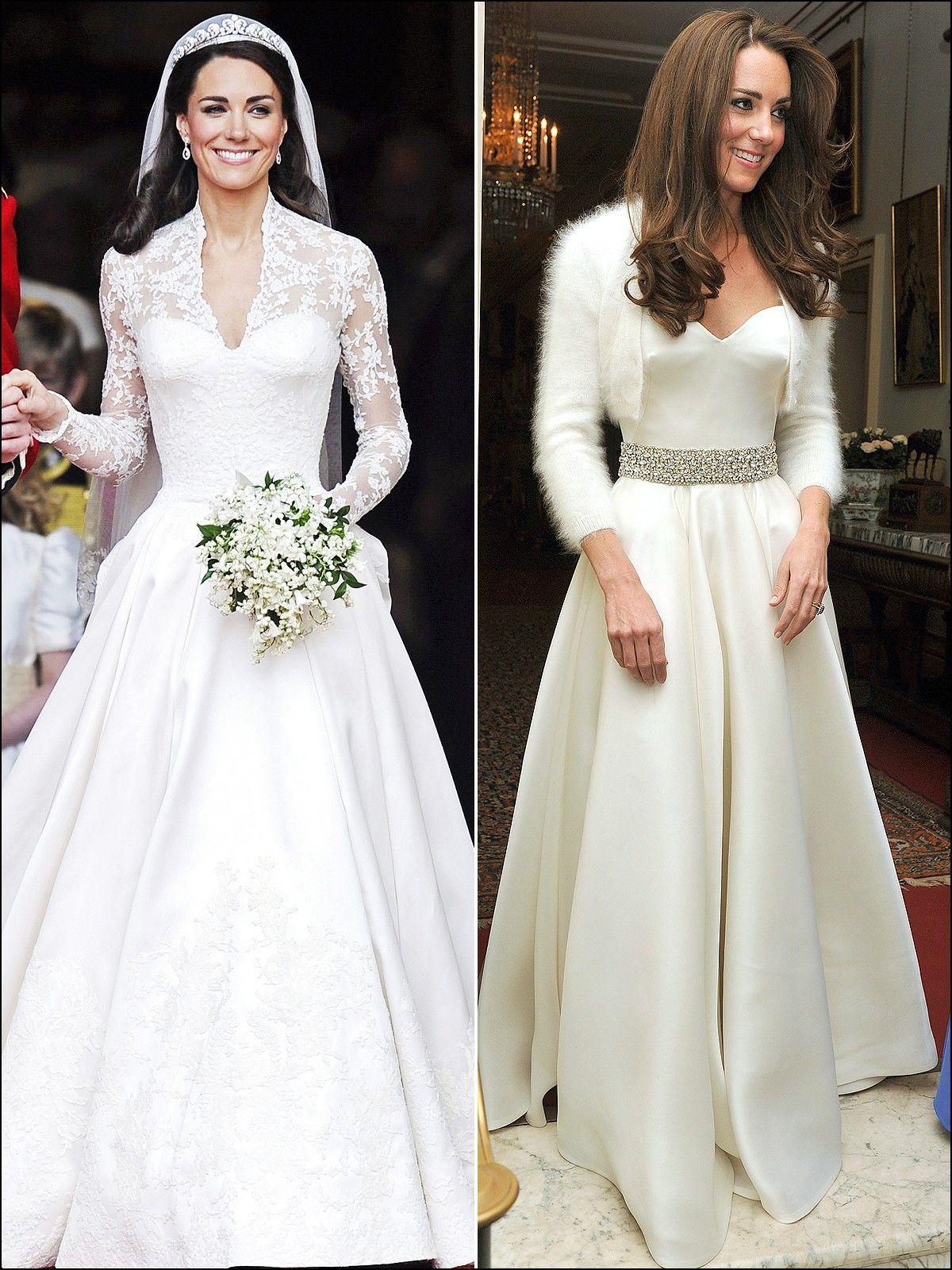 Kate Middleton Reception Wedding Dress Wedding Dreams Pinterest