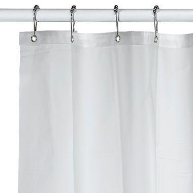 Soft Sensationsa Extra Long Pure Eva Shower Curtain Liner In