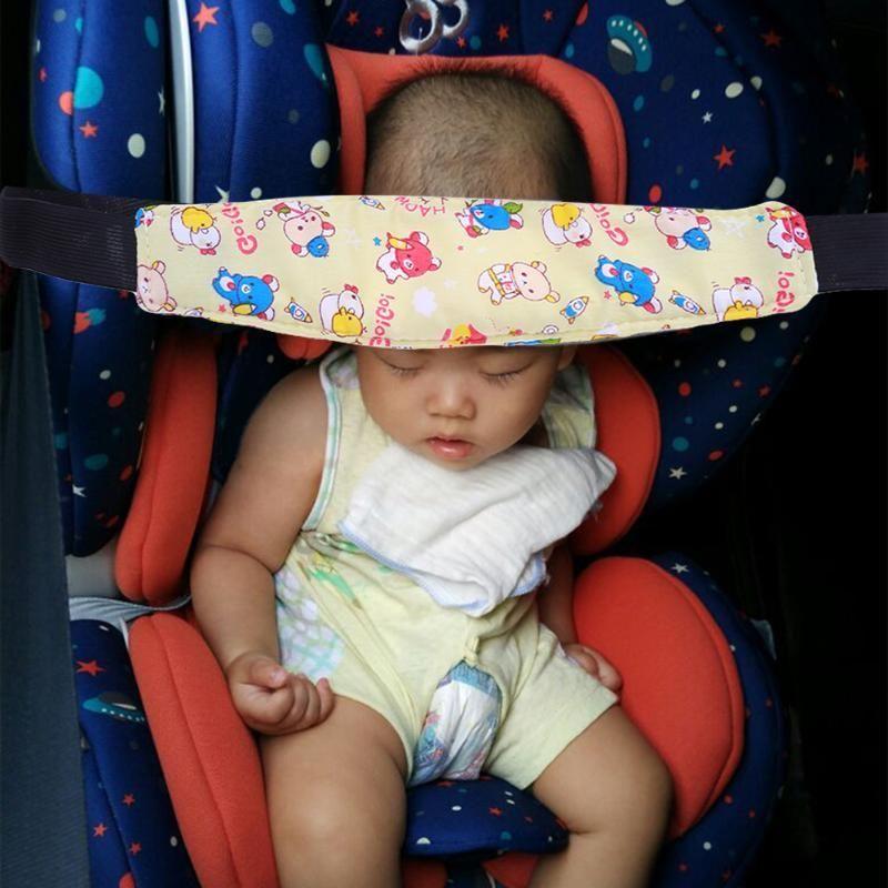 Baby Safety Stroller Car Seat Sleeping Belt Head Support Holder Belt ...