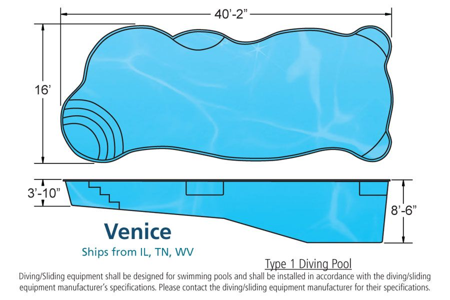 Viking pools free form designs the venice model looks for Pool designs venice