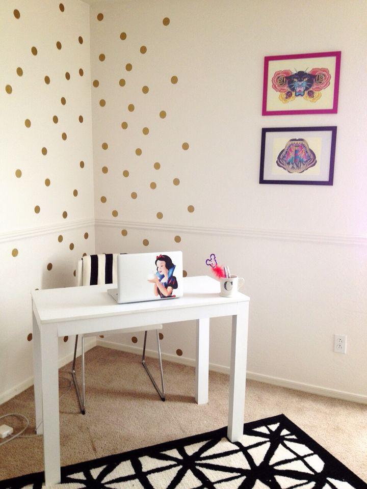 Guest room turned office. (Bruen Home)