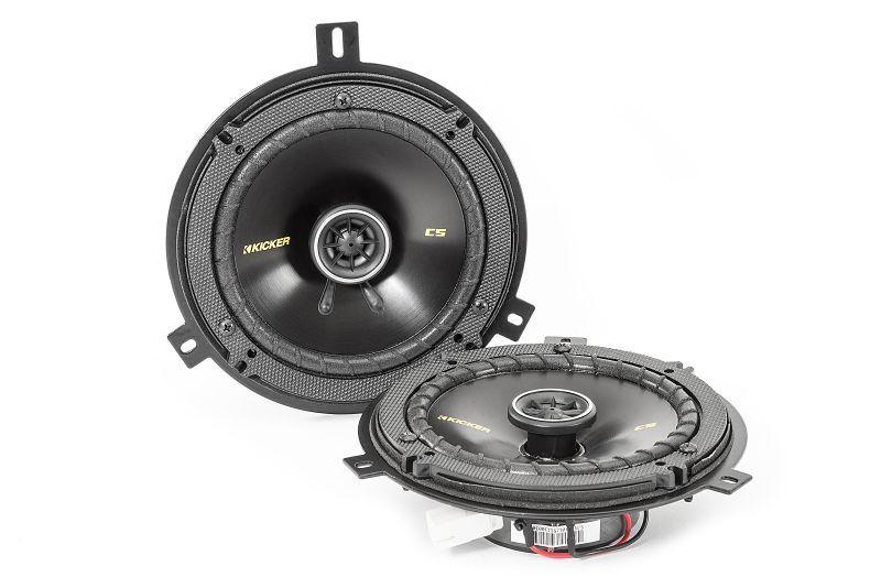 Kicker Jeep Wrangler Speaker Upgrade Kit 2 Speakers