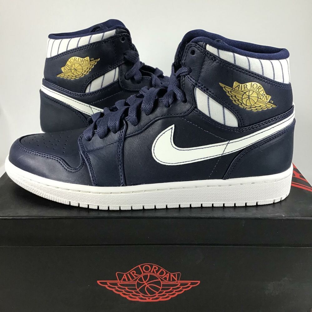 eBay #Sponsored Air Jordan 1 Retro High JETER RE2PECT