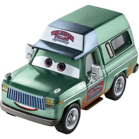 Disney Pixar Cars 3 Roscoe The Promoter Die Cast Vehicle Walmart Com Pixar Cars Diecast Cars Disney Pixar Cars