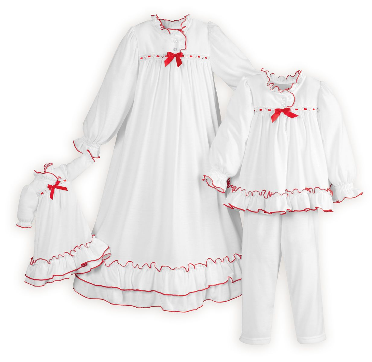 Clara S White Nightgown Amp Pj S Night Gowns Christmas