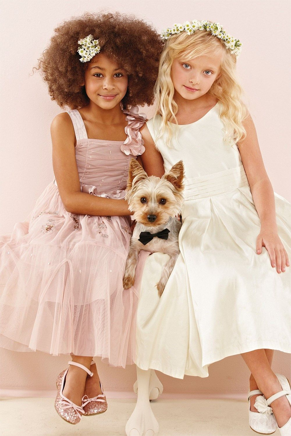Girls clothing online 3 to 16 years next occasion dress buy bow silk bridesmaid dress from the next uk online shop occasion wear ombrellifo Images