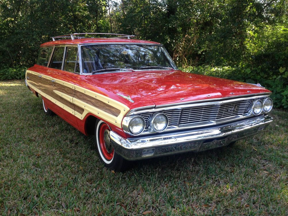 1964 Ford Galaxie Country Squire | eBay Motors, Cars & Trucks, Ford ...