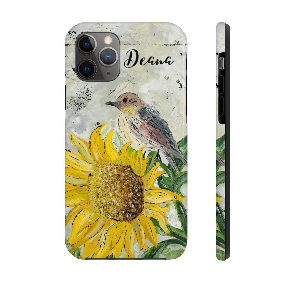 Sunflower Perch. Personalized. Case Mate Tough Phone Cases -  Sunflower Perch. Personalized. Case Mate Tough Phone Cases  #decorandfriends #ginsden #homedecor #h - #case #cases #Mate #Perch #Personalized #phone #phonecasediy #phonecaseforgirls #phonecasepainted #Sunflower #Tough