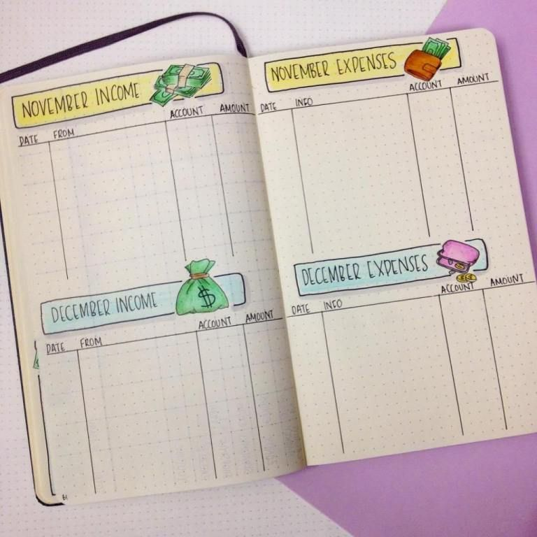 30 Inspiring Bullet Journal Budget Layouts (that'll rock your personal finances!)