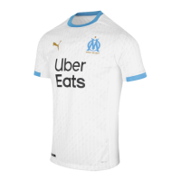 20 21 Marseille Home White Jerseys Shirt In 2020 White Jersey Shirt Jersey Shirt Shirts