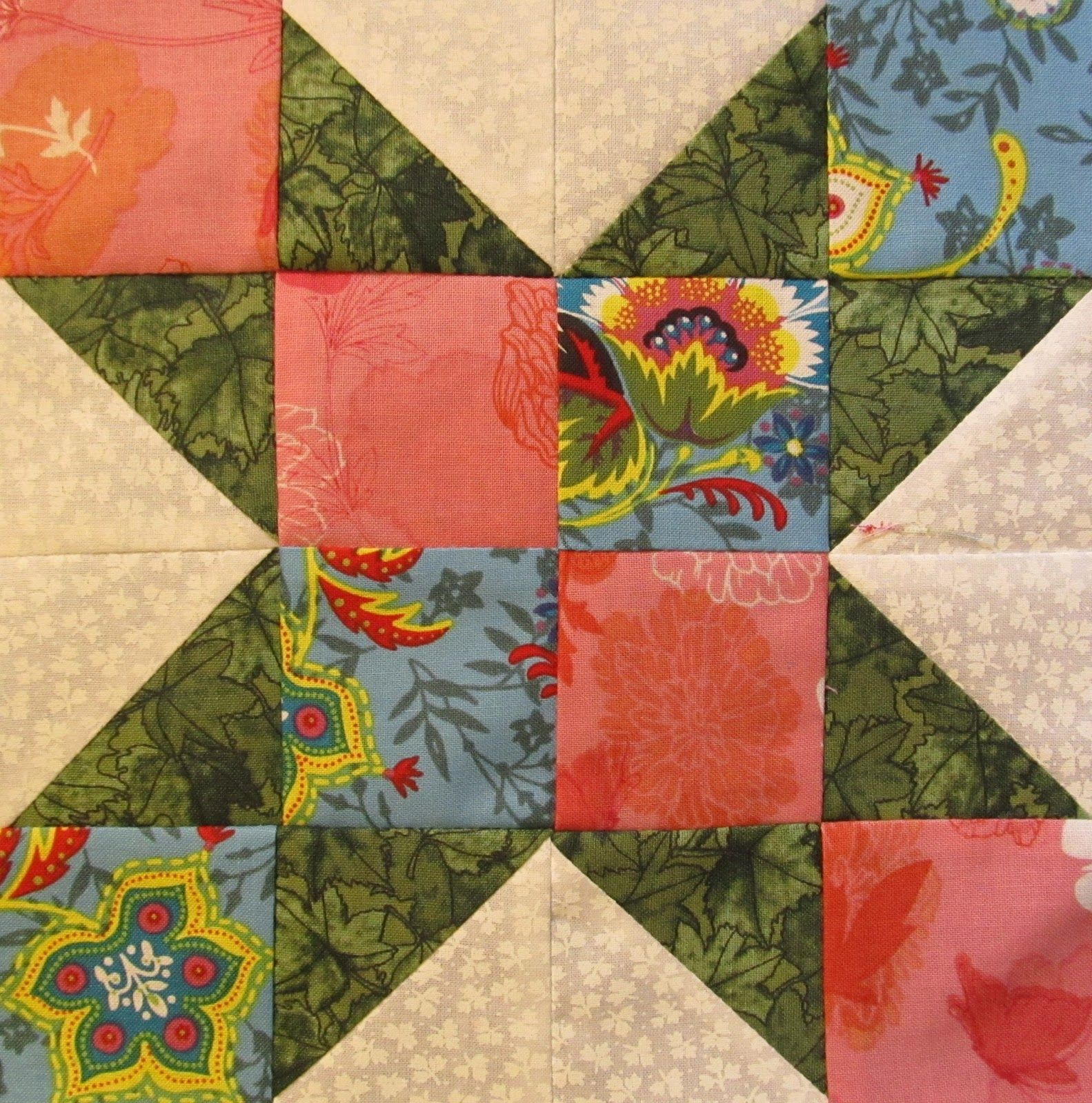star quilt pattern The Quilt Ladies Block of the Month #22