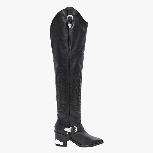 Vogue's Ultimate Guide to Fall 2016's Boots: Western Boots - Toga Pulla thigh-high western boots, $790, openingceremony.com