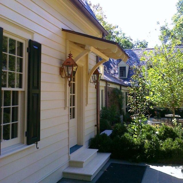 Awning over front or back door | Overhangs | Pinterest
