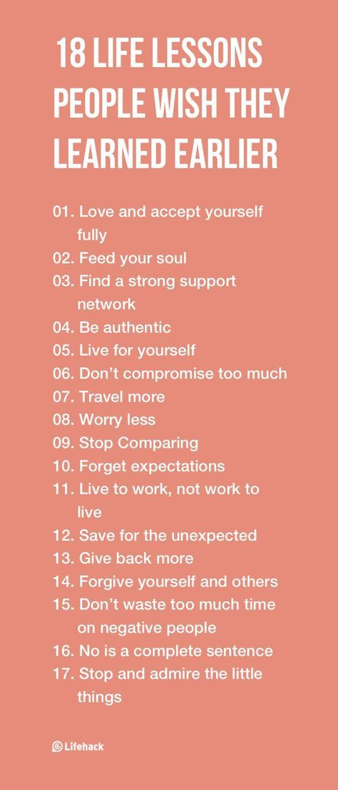Cite 6 Year Girl: 18 Life Lessons People Wish They Learned Earlier